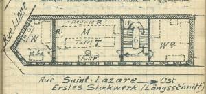 Saint Lazare 1. Stock