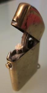 Feuerzeug, 1910 zum Patent angemeldet