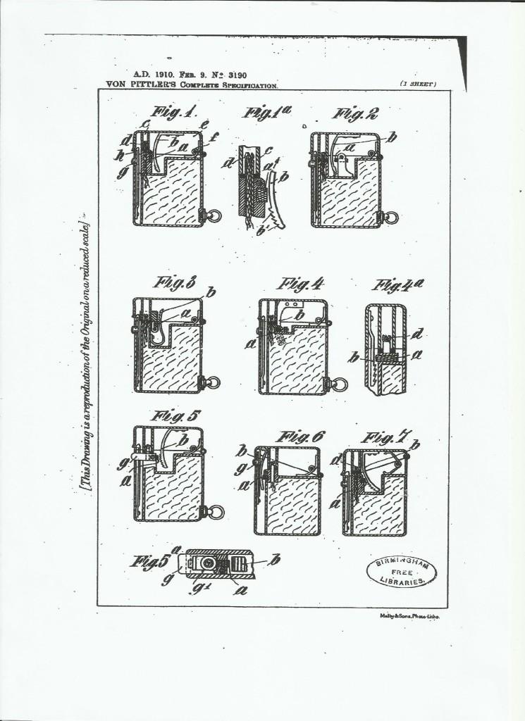 Patent Feuerzeug0003