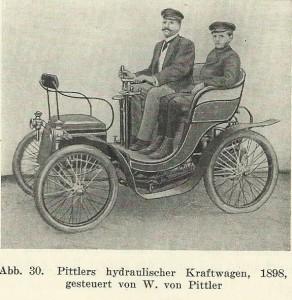 Pittlers hydraulischer Kraftwagen