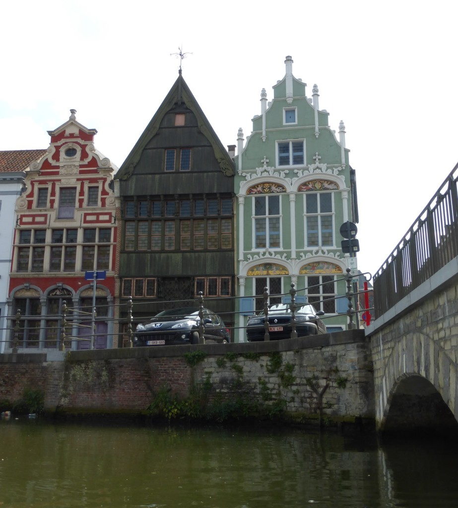 Giebelhäuser aus dem 16. Jahrhundert
