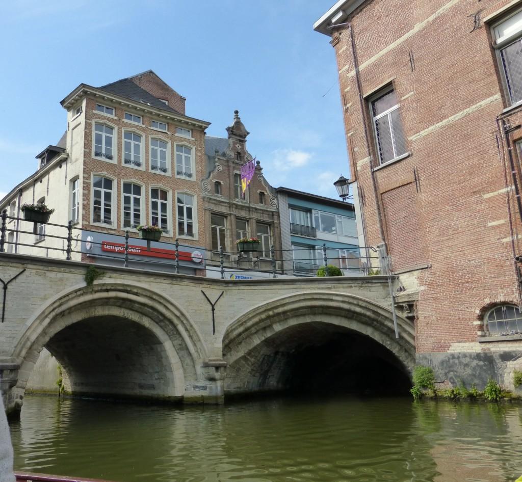 Brücke über der Dyle