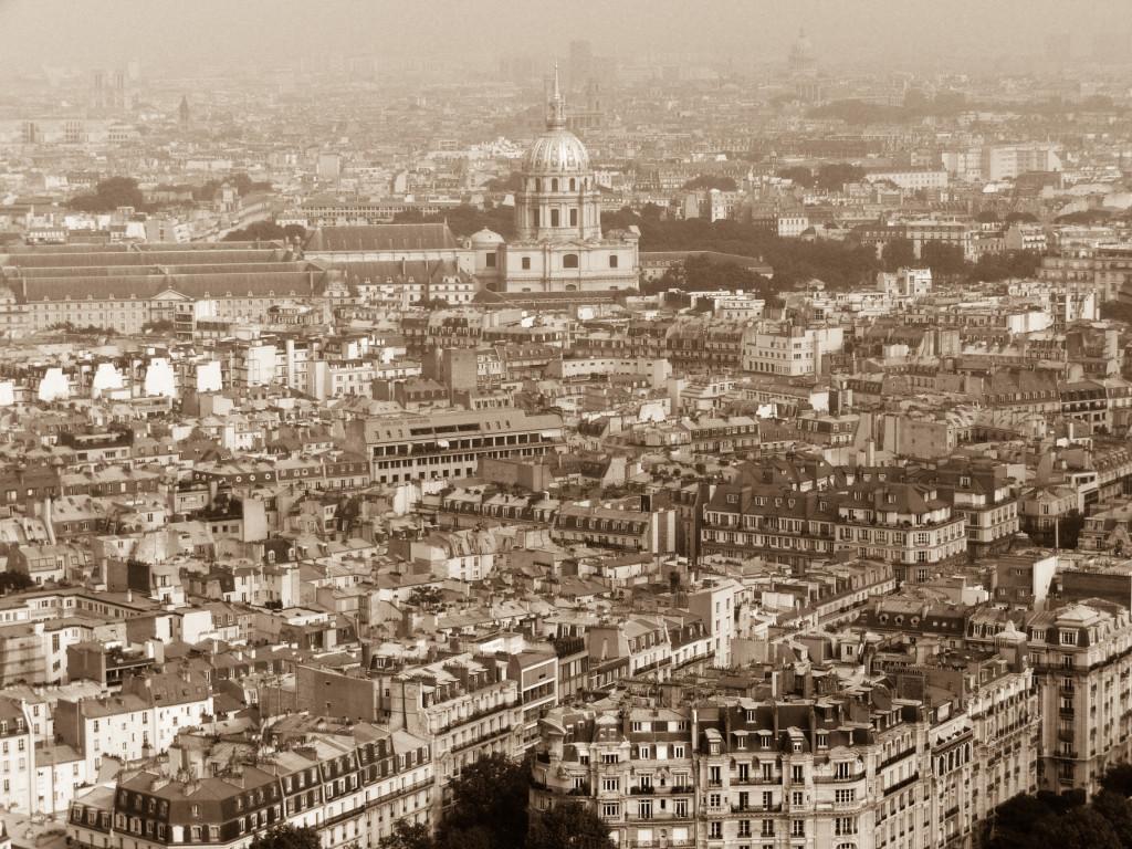 Paris vom Eiffelturm aus