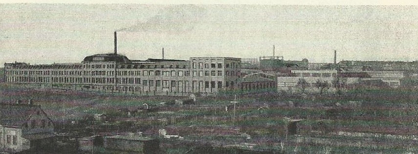 Ansicht der Werkanlagen Januar 1936