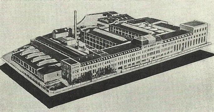 Ansicht der Fabrik 1937
