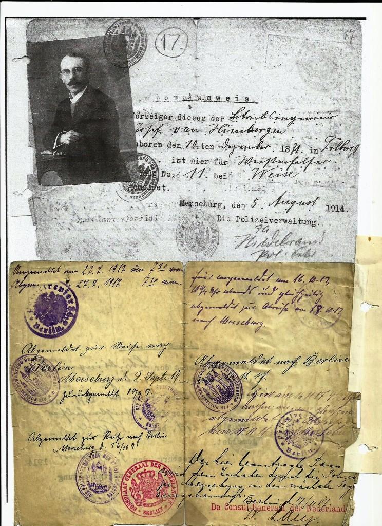 Ausweis 1. Weltkrieg