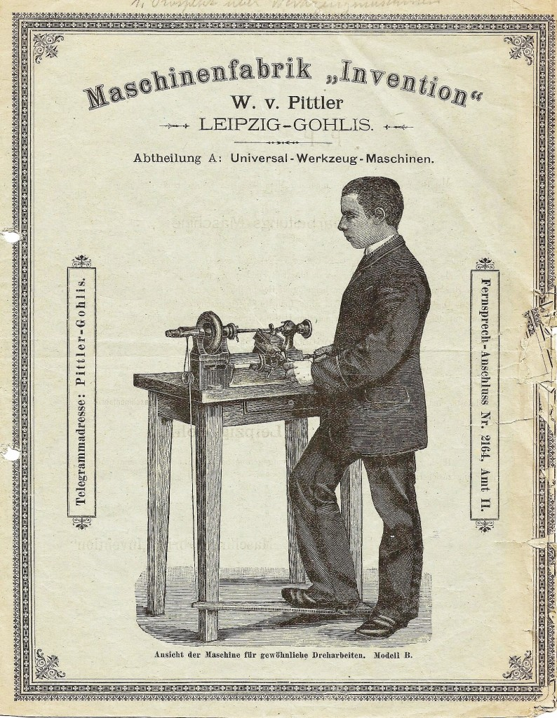 Maschinenfabrik Invention 0001