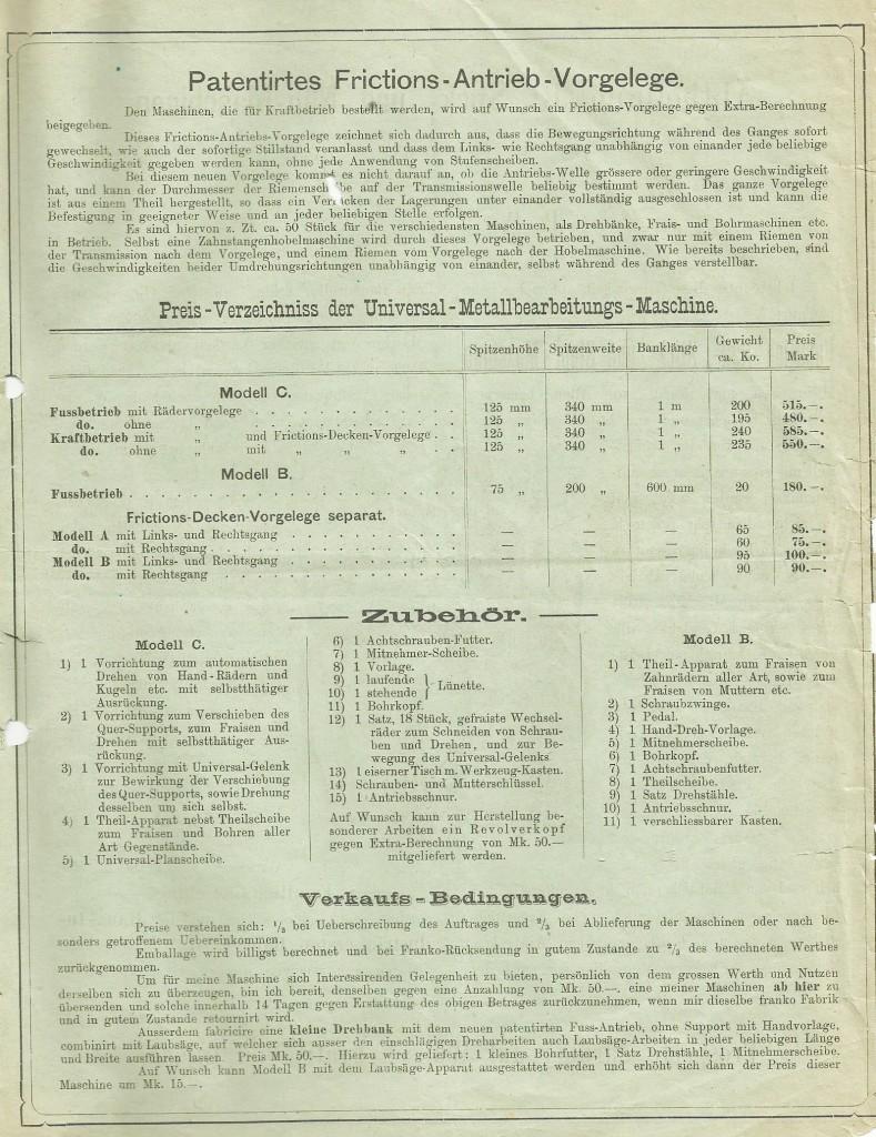 Maschinenfabrik Invention 0007