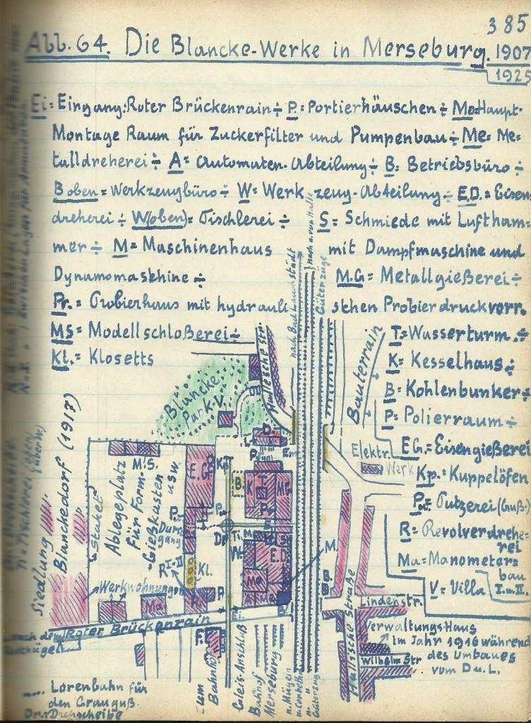 Skizze Blancke-Werke