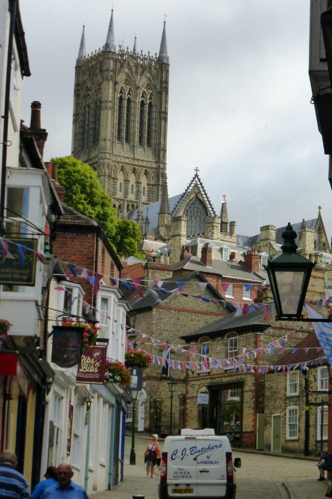 Blick von der Altstadt zur Kathedrale