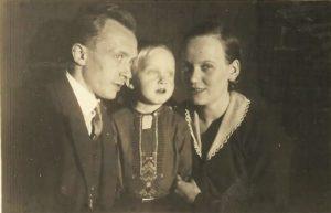 Herbert und Hilde mit Reinhard