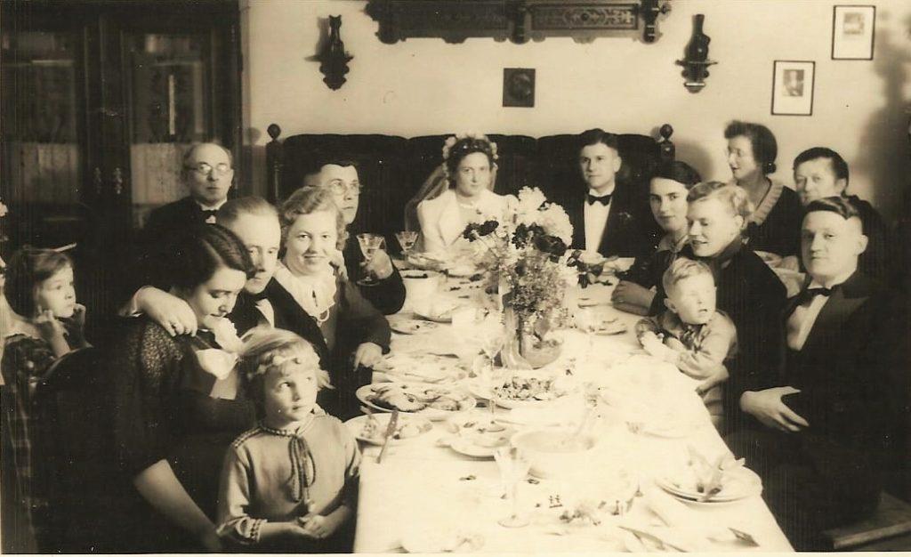 Die Hochzeitsfeier von Alice und Rudolf