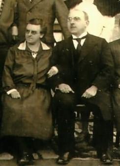 Helene und Franz in Wormstedt